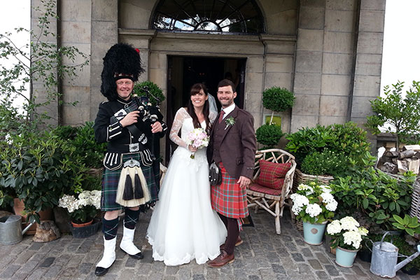 Wedding Piper Edinburgh