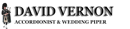 David Vernon | Edinburgh Accordionist & Wedding Piper Hire